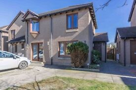 Lovely 3 bedroom semi-detached house in Montrose with off street parking and garden