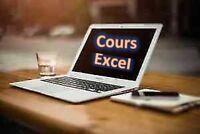 Excel -> Private Courses axed on the Exercices (130$)