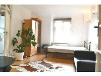 Super Spacious Studio Flat with Separate Kitchen, bills included in Lancaster Gate. W2.