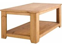 Homebase St Albans Pine Coffee Table RRP 159.99