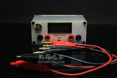2018 Precision Milliohm Meter Four-wire Digital Micro-ohm Meter Resistance Meter