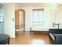 Spacious Studio Flat with Separate Kitchen, bills included in Lancaster Gate. W2.