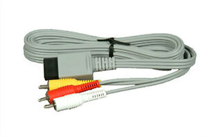 Cable RCA Pour console Wii *Neuf*