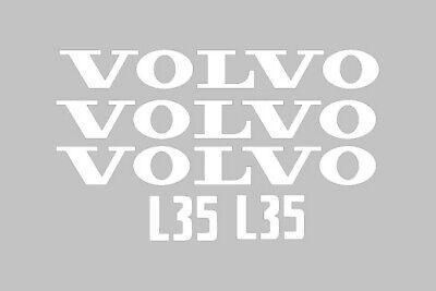 Volvo L35 Wheel Loader Tractor Vinyl Decals Sticker Graphics Set Kit L 35