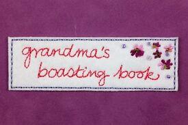 Garandma's boasting book pocket photo album