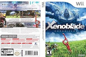 Xenoblade Chronicles Wii flawless condition