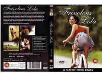 Frivolous Lola DVD £3.25