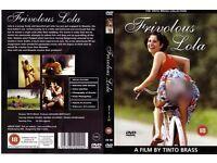 DVD. Frivolous Lola. (Monella)