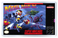 Mega Man X Snes Fridge Magnet Iman Nevera -  - ebay.es