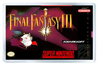 Final Fantasy 3 Snes Fridge Magnet Iman Nevera - fanta - ebay.es