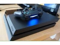 Black ps4 for sale