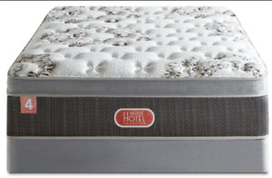 Beautyrest® Hotel Diamond 4 Luxury Firm Euro-Top Queen Mattress