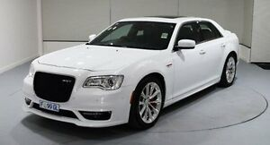 2016 Chrysler 300 LX MY16 SRT E-Shift White 8 Speed Sports Automatic Sedan Cooee Burnie Area Preview