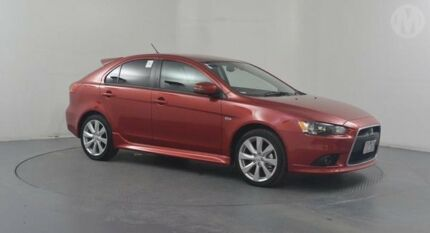 2015 Mitsubishi Lancer CJ MY15 GSR Sportback Red 6 Speed CVT Auto Sequential Hatchback Altona North Hobsons Bay Area Preview