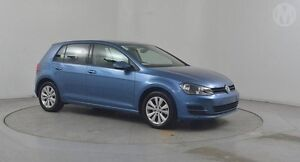 2015 Volkswagen Golf AU MY15 90 TSI Comfortline Blue 7 Speed Automatic Hatchback Altona North Hobsons Bay Area Preview