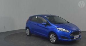 2015 Ford Fiesta WZ Ambiente Extreme Blue 6 Speed Automatic Hatchback Perth Airport Belmont Area Preview