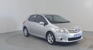 2010 Toyota Corolla ZRE152R MY10 Conquest Silver Pearl 6 Speed Manual Hatchback Perth Airport Belmont Area Preview