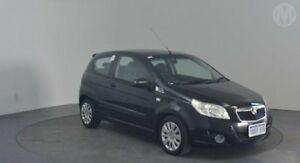 2009 Holden Barina TK MY09 Carbon Black 5 Speed Manual Hatchback Perth Airport Belmont Area Preview