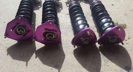 114.3 HKS coilovers suspension for Subaru Impreza widetrack sti