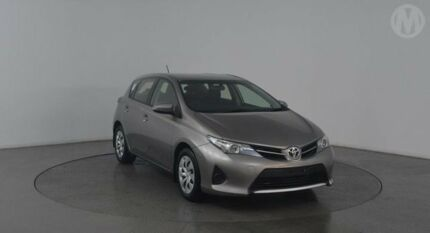 2013 Toyota Corolla ZRE182R Ascent Positano Bronze 7 Speed CVT Auto Sequential Hatchback Eagle Farm Brisbane North East Preview