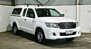 2013 Toyota Hilux GGN15R MY14 SR Xtra Cab 4x2 White 5 Speed Automatic Utility Thomastown Whittlesea Area Preview