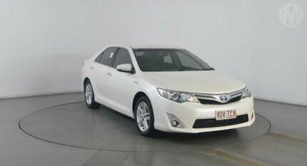 2012 Toyota Camry AVV50R Hybrid HL Crystal Pearl Continuous Variable Sedan