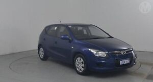 2011 Hyundai i30 FD MY11 SX Moonlight Blue 4 Speed Automatic Hatchback Perth Airport Belmont Area Preview