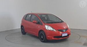 2008 Honda Jazz GE GLi Milano Red 5 Speed Manual Hatchback Perth Airport Belmont Area Preview