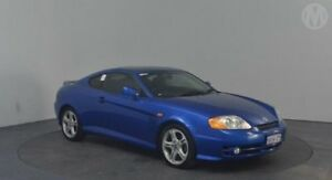2004 Hyundai Tiburon V6 Exciting Blue 4 Speed Auto Selectronic Coupe Perth Airport Belmont Area Preview