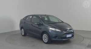 2010 Ford Fiesta WT LX Grey 5 Speed Manual Sedan Perth Airport Belmont Area Preview