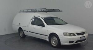 2005 Ford Falcon BF XL Super Cab Winter White 4 Speed Sports Automatic Cab Chassis Perth Airport Belmont Area Preview