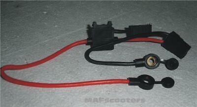 Conector Batería FUSE Soporte y 3 fusibles Gasolina / Eléctrico e MONOPATINES