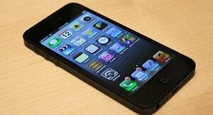 iPhone 5 16GB Black – unlocked