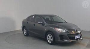 2013 Mazda 3 BL10F2 MY13 Neo Graphite 6 Speed Manual Sedan Perth Airport Belmont Area Preview