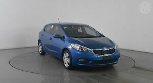 2014 Kia Cerato YD MY14 S Abyss Blue 6 Speed Automatic Hatchback Eagle Farm Brisbane North East Preview