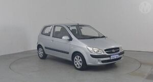 2010 Hyundai Getz TB MY09 SX Space Silver 5 Speed Manual Hatchback Perth Airport Belmont Area Preview