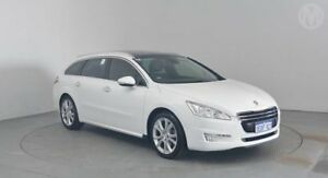 2013 Peugeot 508 MY13 Allure Touring 1.6T Bianca White 6 Speed Automatic Wagon Perth Airport Belmont Area Preview