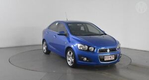 2013 Holden Barina TM MY13 CDX Bluebell Blue 6 Speed Automatic Sedan Eagle Farm Brisbane North East Preview