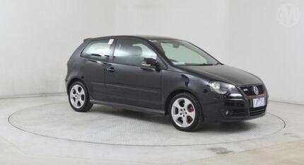 2007 Volkswagen Polo 9N MY07 Upgrade GTi Black Magic 5 Speed Manual Hatchback Altona North Hobsons Bay Area Preview