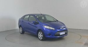 2010 Ford Fiesta WT LX Phantom Blue 5 Speed Manual Sedan Perth Airport Belmont Area Preview