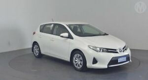 2013 Toyota Corolla ZRE182R Ascent S-CVT Glacier White 7 Speed Constant Variable Hatchback Perth Airport Belmont Area Preview