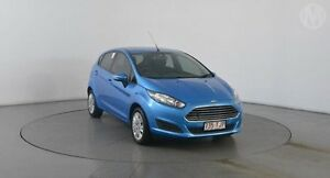 2013 Ford Fiesta WZ Ambiente PwrShift Celestial Blue 6 Speed Sports Automatic Dual Clutch Hatchback Eagle Farm Brisbane North East Preview