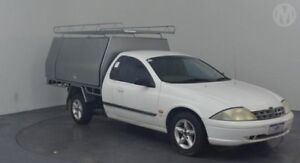 2000 Ford Falcon Auii XL Winter White 4 Speed Automatic Cab Chassis Perth Airport Belmont Area Preview