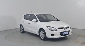 2011 Hyundai i30 FD MY11 SX Ceramic White 4 Speed Automatic Hatchback Perth Airport Belmont Area Preview