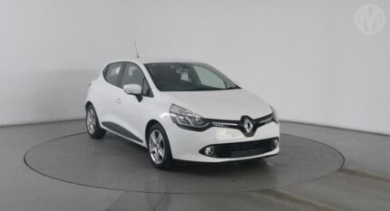 2014 Renault Clio X98 Expression White 6 Speed Automated Manual Hatchback Eagle Farm Brisbane North East Preview