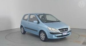 2009 Hyundai Getz TB MY09 S Sky Blue 5 Speed Manual Hatchback Perth Airport Belmont Area Preview