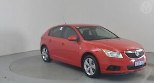 2013 Holden Cruze JH MY13 CD Equipe Red Hot 6 Speed Automatic Hatchback Perth Airport Belmont Area Preview