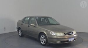 2002 Saab 9-5 MY2002 ARC Gold 5 Speed Automatic Sedan Perth Airport Belmont Area Preview