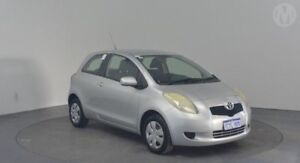 2006 Toyota Yaris NCP90R YR Quicksilver 5 Speed Manual Hatchback Perth Airport Belmont Area Preview