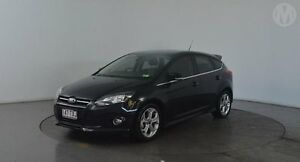 2014 Ford Focus LW MK2 Sport Panther Black 6 Speed Automatic Hatchback Eagle Farm Brisbane North East Preview